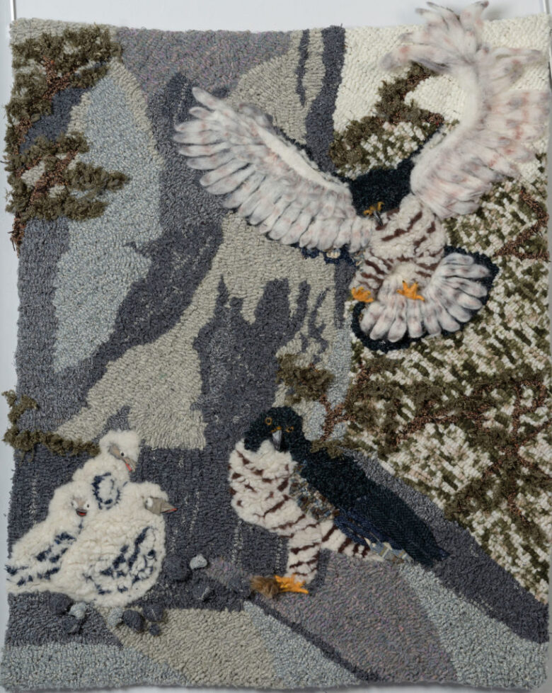 The Wing of the Falcon, Brings to the King by Janet Dean