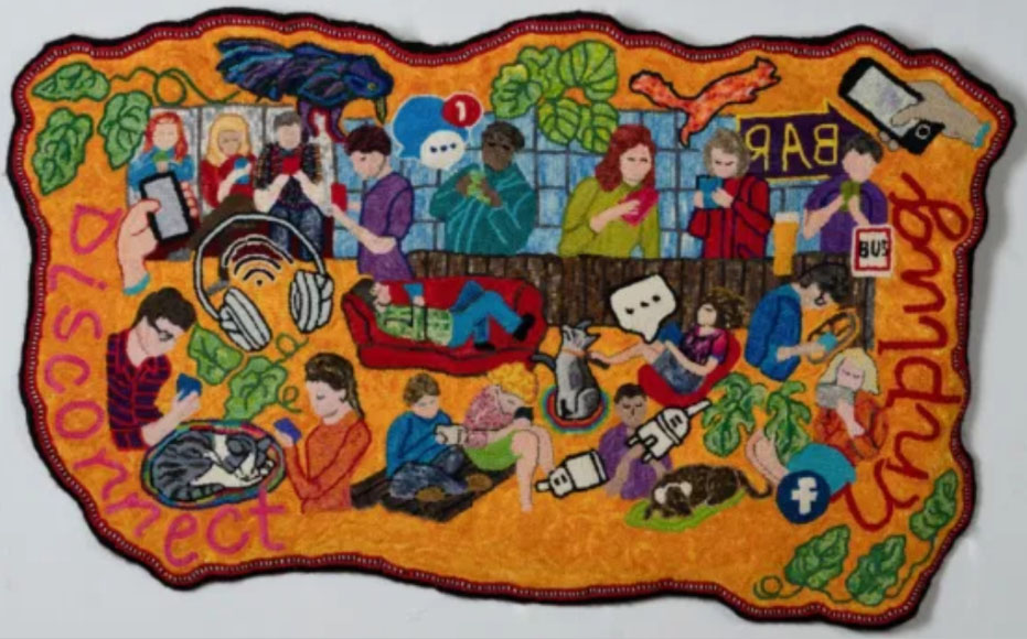 Traditional Rug Hooking 2020: Future in Focus - Best of Show